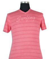 Tshirt Manches Courtes Rose Kitaro du 2XL au 8XL