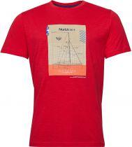 Tshirt Manches Courtes Rouge  All Size du 2XL au 10XL
