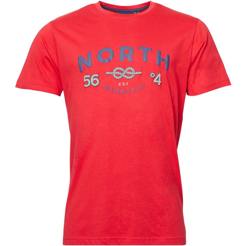 Tshirt Manches Courtes Rouge All Size du 2XL au 8XL