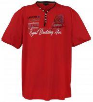 Tshirt Manches Courtes Rouge du 3XL au 8XL Lavecchia