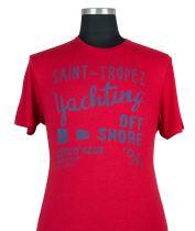 Tshirt Manches Courtes Rouge Kitaro du 2XL au 8XL