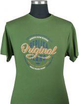 Tshirt Manches Courtes Vert All Size du 2XL au 8XL