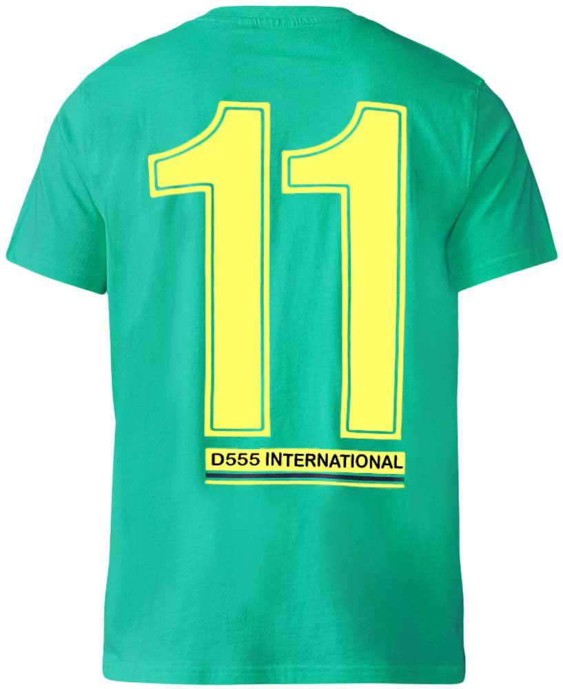 Tshirt Manches Courtes Vert Duke Du 3XL au 6XL
