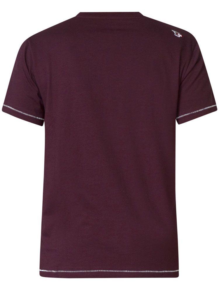 Tshirt Manches Courtes Violet Duke du 3XL au 6XL