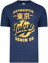 Tshirt Manches Longues Bleu Marine du 2XL au 8XL Kam