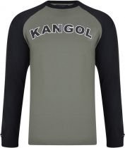 Tshirt Manches Longues Kaki Kangol du 2XL au 6XL