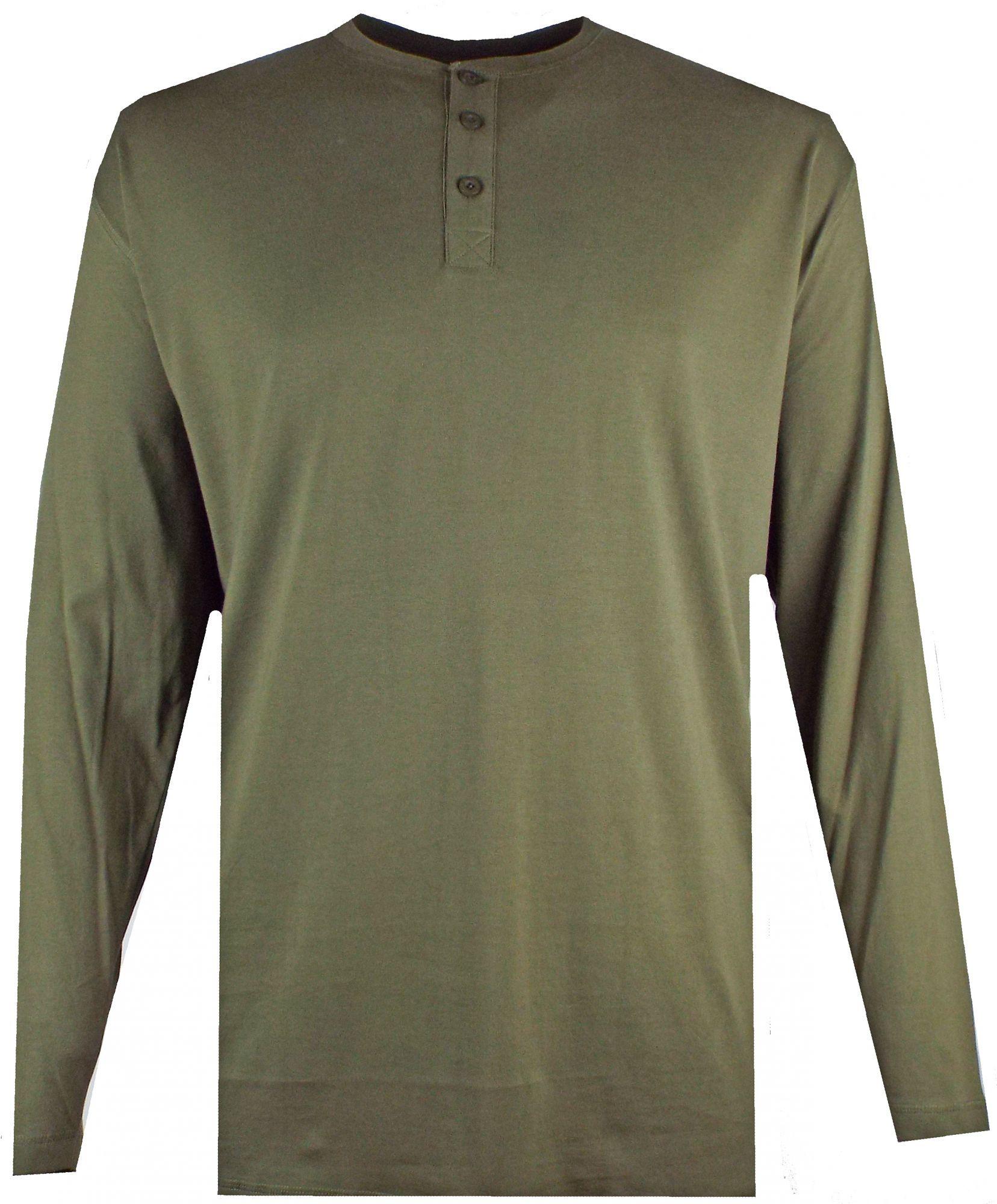Tshirt Manches Longues Vert Espionage du 2XL au 8XL
