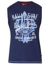 Tshirt Sans Manches  Bleu Marine Duke du 3XL au 6XL
