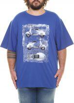 Tshirt Sans Manches  Bleu Maxfort du 3XL au 8XL