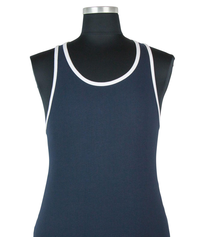 Tshirt Sans Manches Bleu Marine Kam du 2XL au 8XL