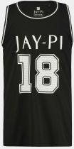 Tshirt Sans Manches Noir JP1880 du 3XL au 7XL