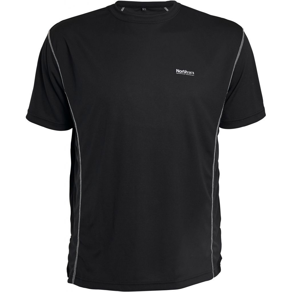 Tshirt Sport Noir All Size Du 2XL au 8XL