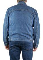 D-Duke Trucker veste jean bleu-1960