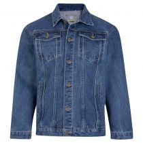 Veste Jean Bleu Kam Jeans du 2XL au 8XL