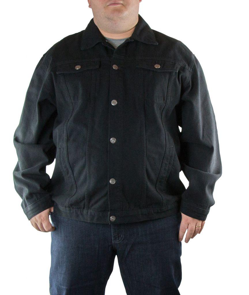Veste Jean Noire Kam Jeans du 2XL au 8XL